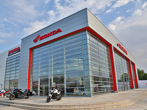 Honda Bike Showroom